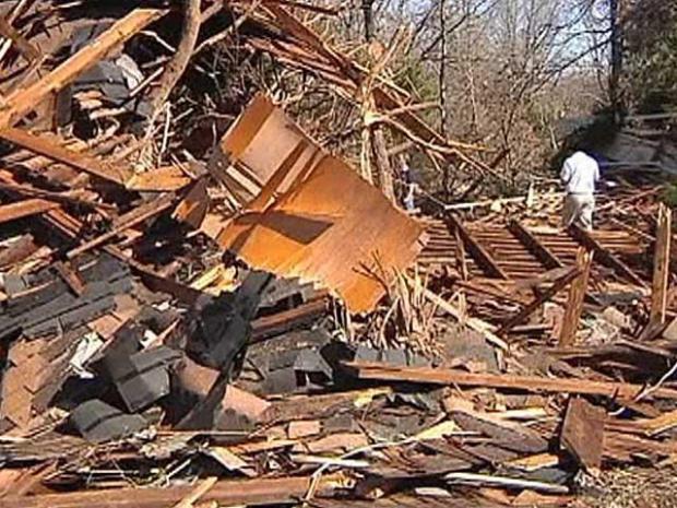 [DFW] NWS Investigators Survey Storm Damage