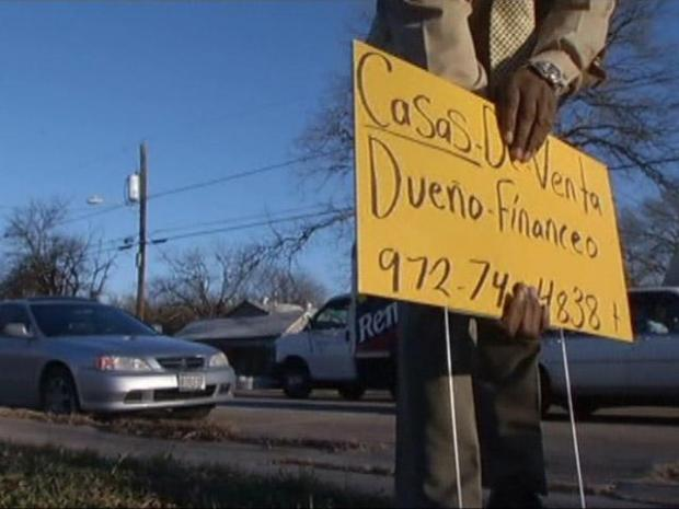 [DFW] Oak Cliff Man Wages War on Illegal Signs