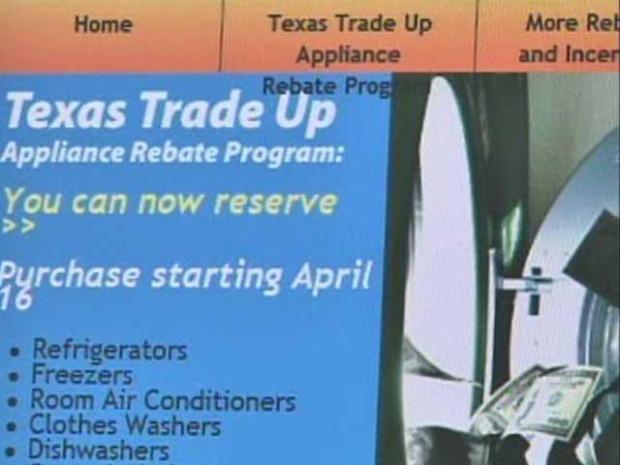 [DFW] Appliance Rebate Program Frustrates Texans