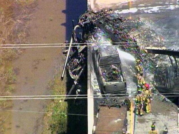[DFW] Raw Video: Fiery Crash in Lewisville