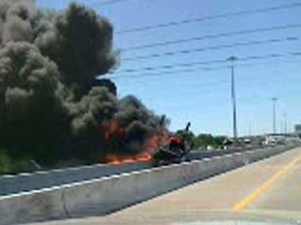 [DFW] Warning Explicit Language: Witness Video of Lewisville Crash