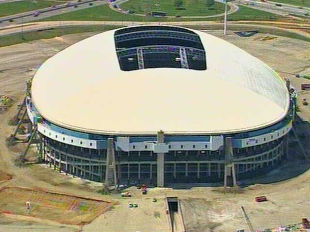 [DFW] Final Preps for Texas Stadium Implosion