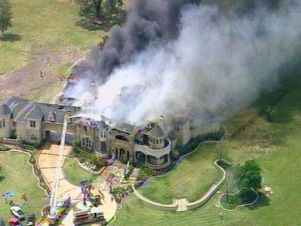[DFW] Massive House Fire in Heath