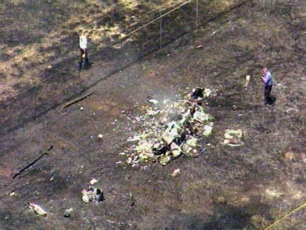 [DFW] Raw Video: CareFlite Crashes, Two Killed