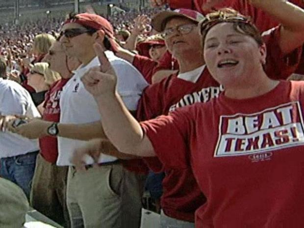 [DFW] Texas-OU Rivalry Carries Over to License