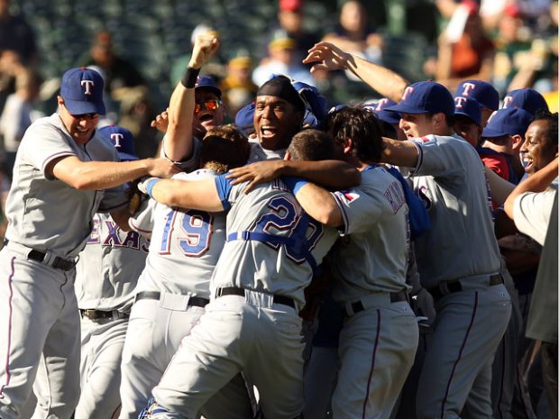 Rangers Clinch AL West Title