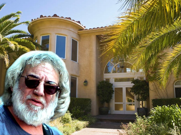 [NATL *DO NOT USE*] Estates and Cribs: Rock Legend Jerry Garcia's Home for Sale