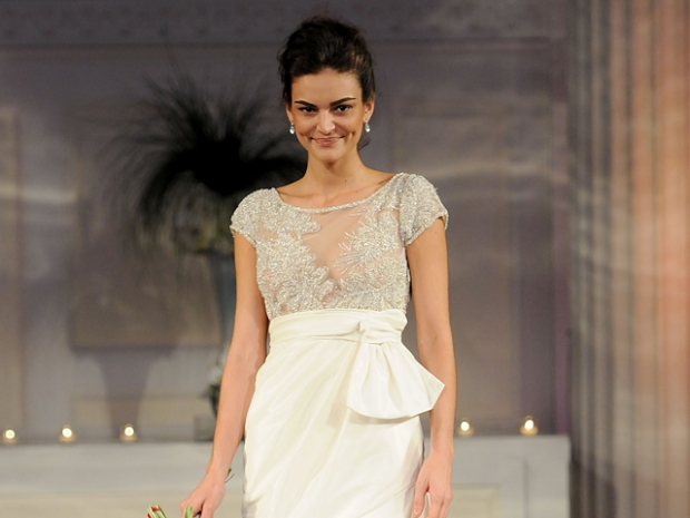 Tie the Knot in a David Meister Dress