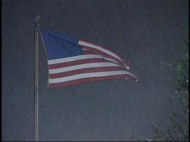 [DFW] Severe Storms Move Through Denton