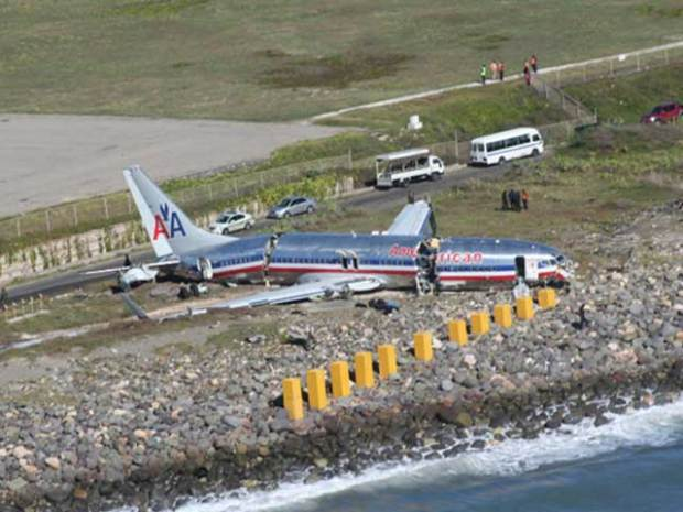 AA331 Crashes After Landing In Jamaica