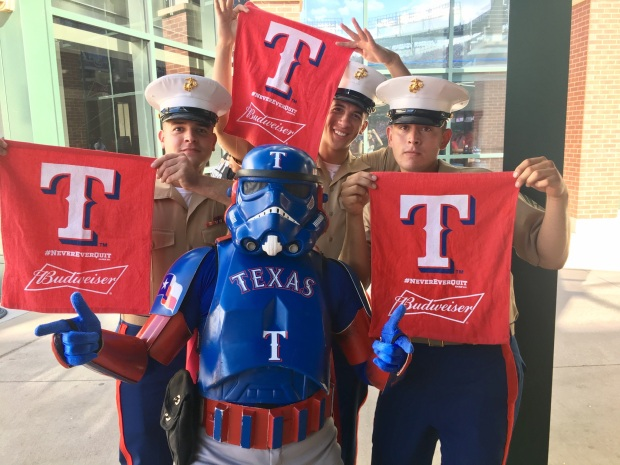 Your Photos: Rangers Red Fever 2016