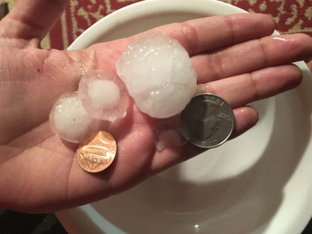 Your Hail Photos - March 23, 2016