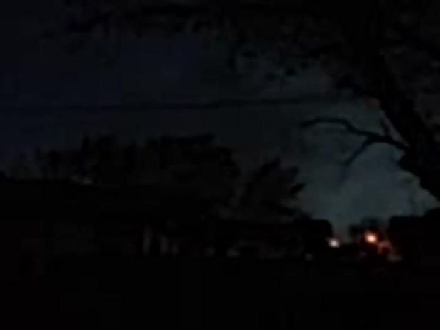 Sanger TX storms