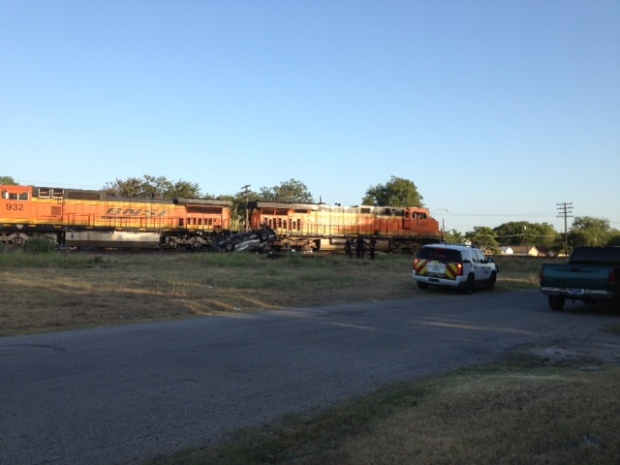 Photos: Train Collides With SUV