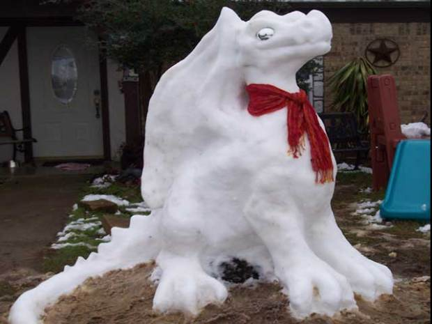 Snow-tastic Sculptures