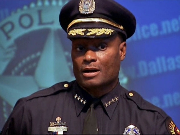 "[DFW] Chief Brown Appeals to ""the Calmer Voices of the Community"""