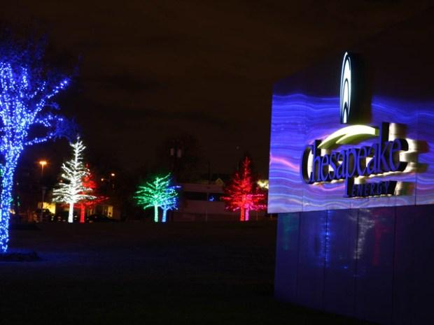 Chesapeake's Christmas Display