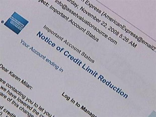 [DFW] Credit Card Companies Reduce Limits and Change Rates
