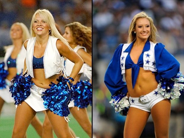 Who's Hotter? Colts or Cowboys Cheerleaders?