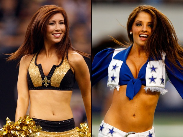 Who's Hotter? Saints or Cowboys Cheerleaders?