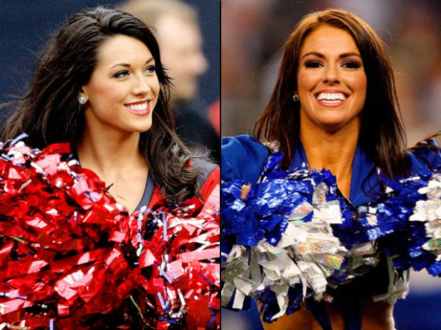 Who's Hotter? Texans or Cowboys Cheerleaders?