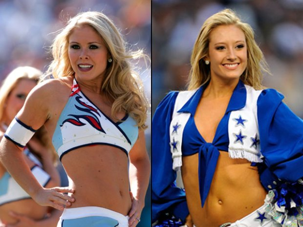 Who's Hotter? Titans or Cowboys Cheerleaders?