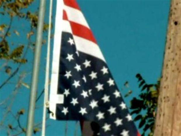[DFW] Veteran Furious Over Flag Flying Upside Down