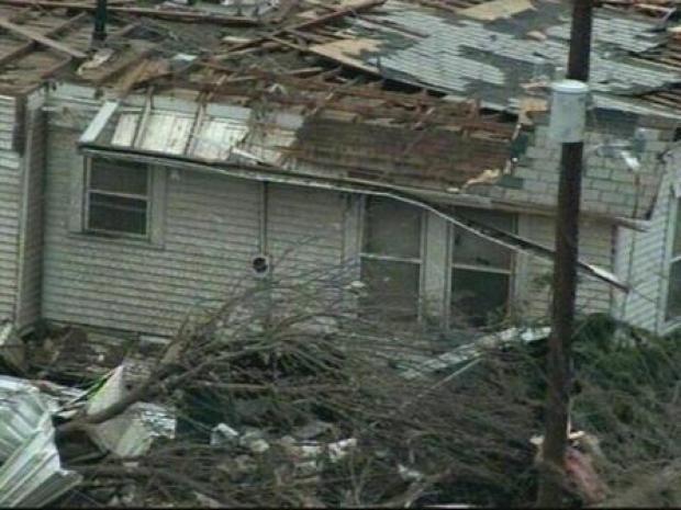 [DFW] Aerials Show Tornado Damage in Grayson Co.