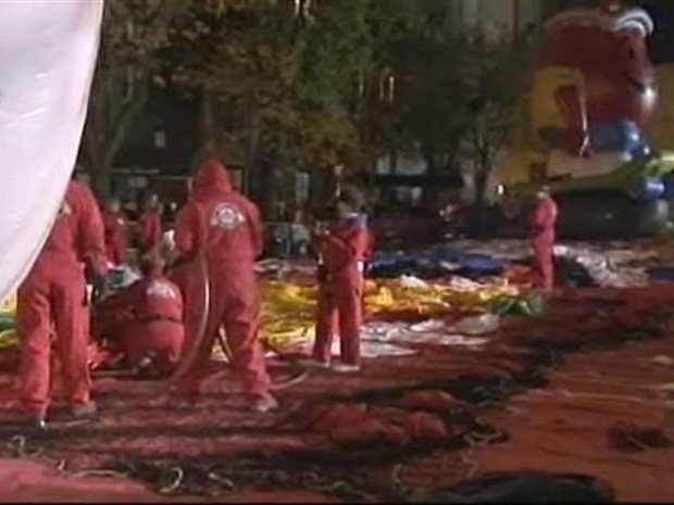 [NY] Balloons Take Shape for The Macy's Thanksgiving Parade