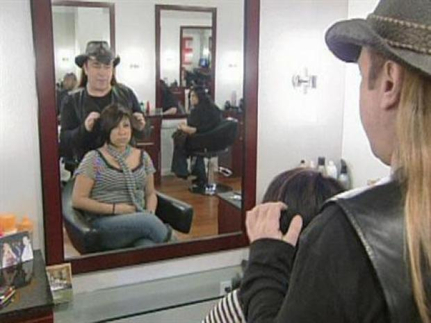 [DFW] Jose Eber Gives Makeovers to At-Risk Teens