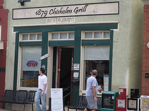 1879 Chisholm Grill Before the Fire