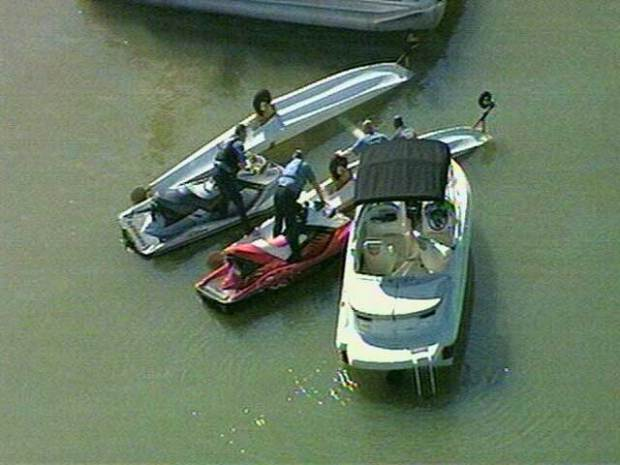 Plane Down in Lewisville Lake