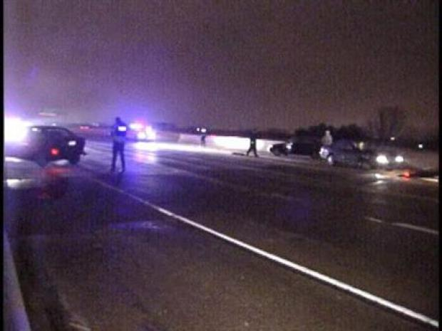 [DFW] Icy Conditions Create Problems Across North Texas