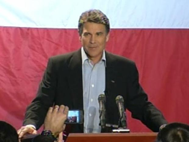 [DFW] Gov. Rick Perry Proclaims Victory