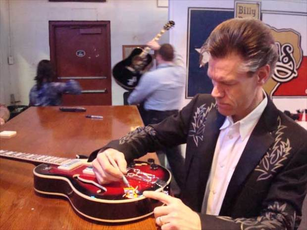 Celebrity-Signed Guitars Stolen