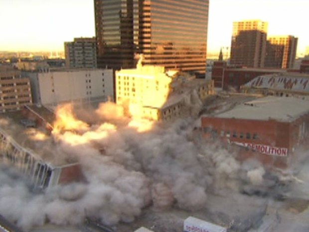 Photos: First Baptist Dallas Implosion