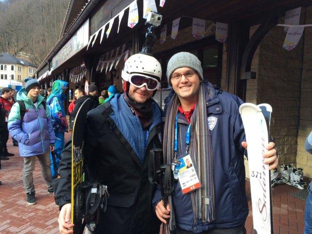 Pat Skis Sochi