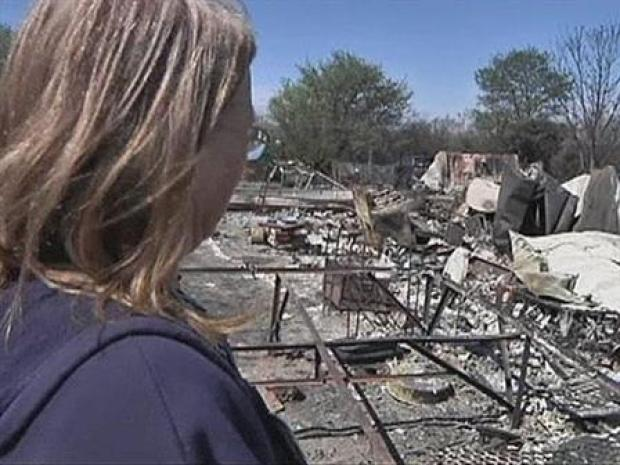 [DFW] Residents Survey Wildfire Damage