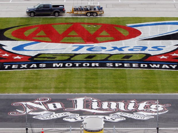 AAA Texas 500 Preps at TMS