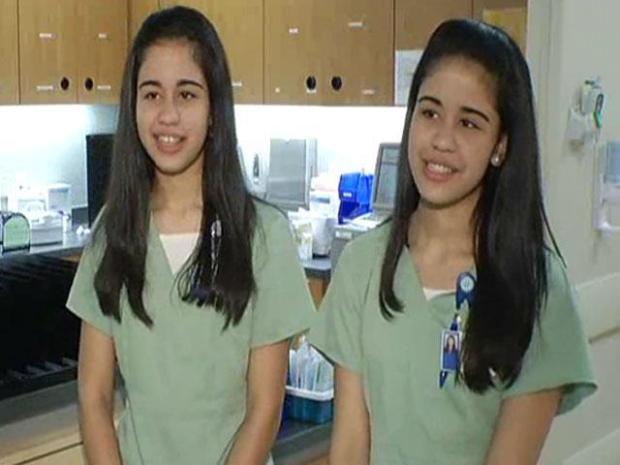 [DFW] North Texas Twins Pursue Nursing