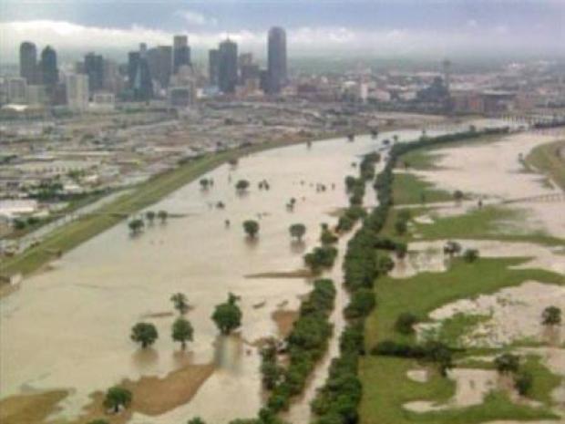 [DFW] Trinity River Flooding