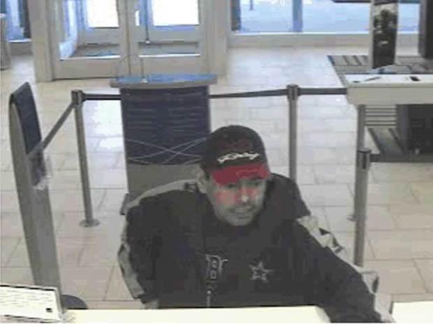 Arlington Police Seek Bank Robbery Suspect