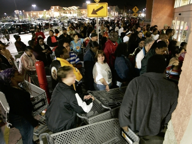 [DFW] Deadly Stampede Has Walmart Rethinking Black Friday
