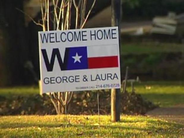 [DFW] Gawkers Sneak Peak at Future Bush Home