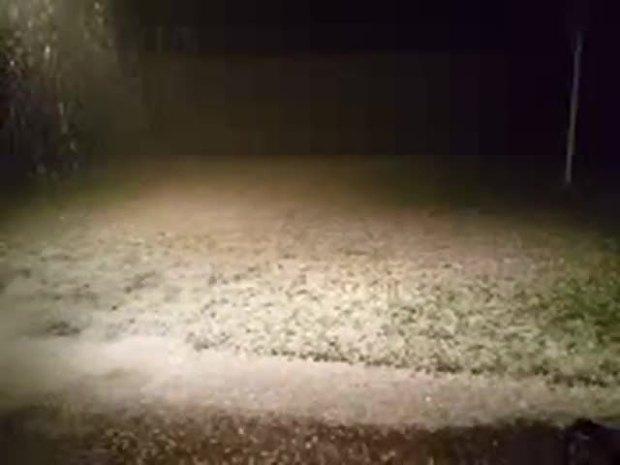 Hail in Plano