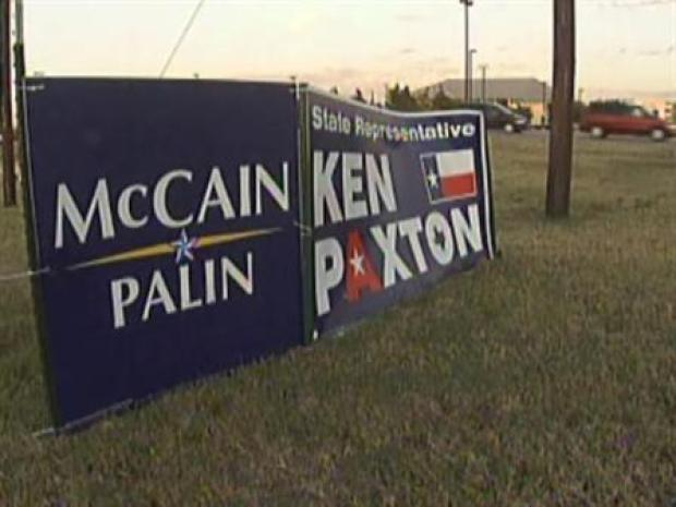 [DFW] Even Campaign Signs Can Go Green