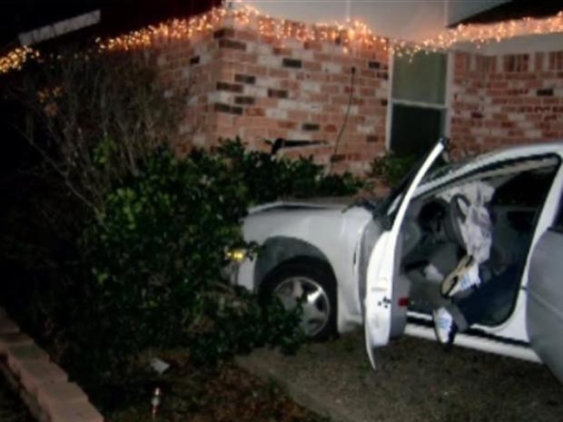 [DFW] Crashes Come in Threes for Farmers Branch Homeowner