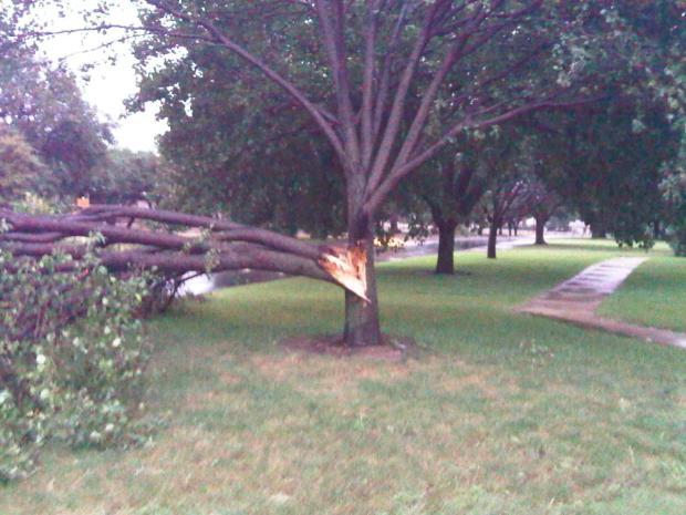 Severe Storms Slam North Texas