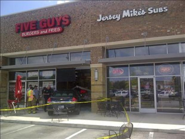 Five Guys Wreck
