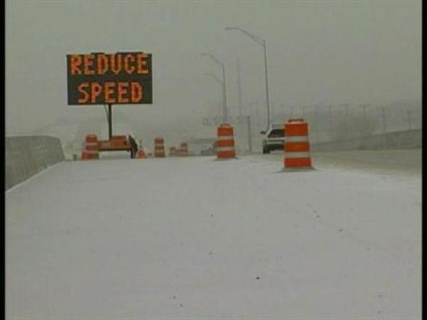 [DFW] Ice-Covered Roads Make Driving Dangerous in Collin County